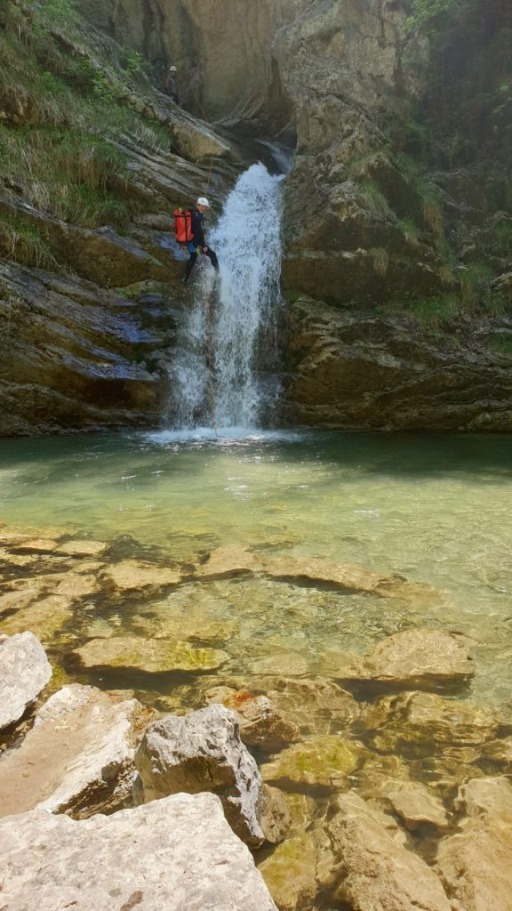Canyoning Mühlebach